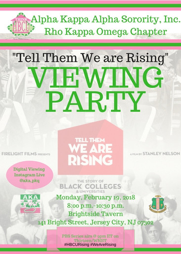 Tell Them We are Rising Viewing Party