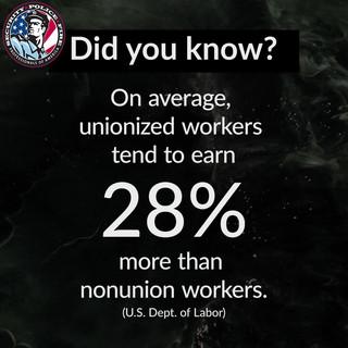 Union Statistic Graphic