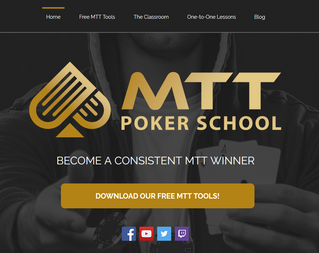 MTT Poker School launches brand new website