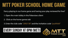 The Sunday Home Game now welcomes US players!!!