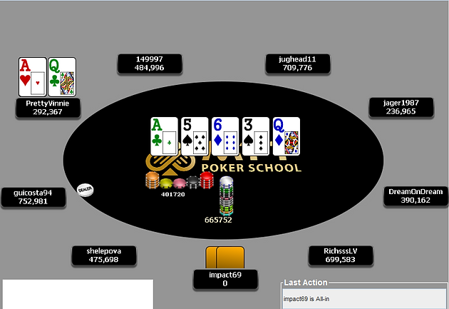 Tough Spot On The Final Table Of The Big $55 | Home ǀ MTT Poker