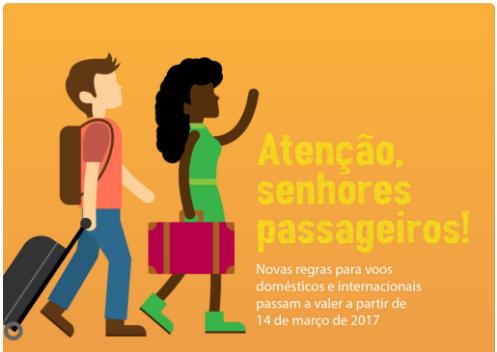 Conheça as novas regras de transporte aéreo no Brasil