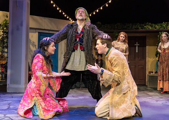 Justin in The Comedy of Errors