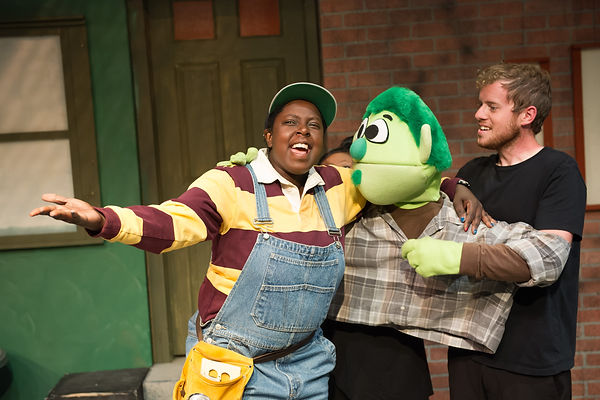 Sonsharae Tull Avenue Q photo from StageDoor Theatre with Sonsharae Tull and