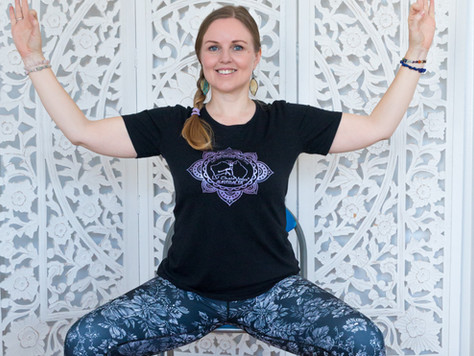 5 ways that Chair Yoga can help support mental health