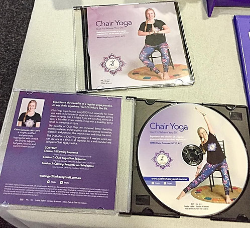 Chair Yoga DVD cover