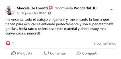 Opiniones sobre Wonderful 3D