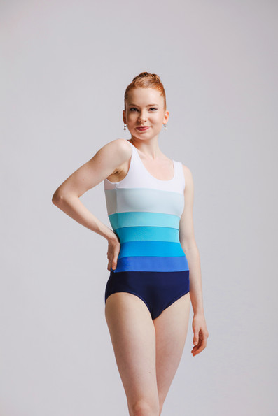 Calypso Leotard in Galapagos Palette