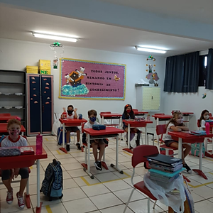 Volta às aulas 2021 - Colégio Visão Formosa