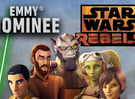 'Star Wars Rebels' Receives Emmy Nominations