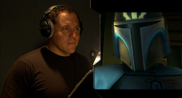 Jon Favreau voicing Pre Vizsla