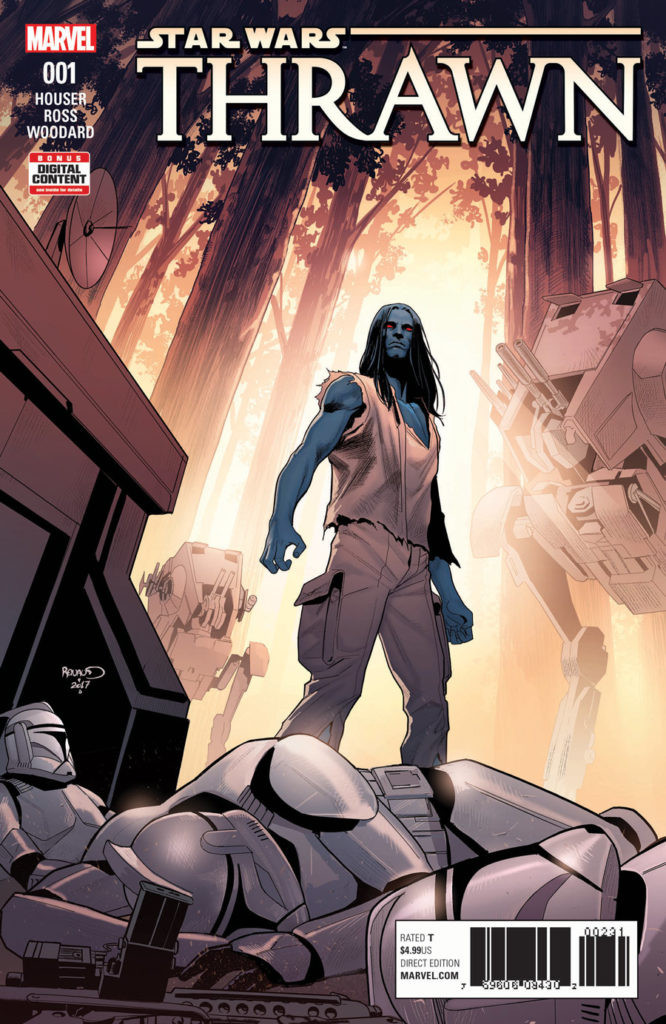 Cover art for Thrawn #1
