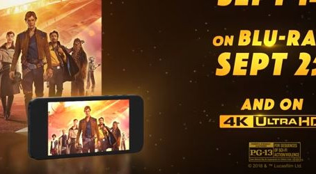 'Solo: A Star Wars Story' Coming to Blu-Ray Sept. 25