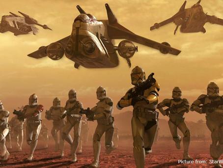 My Clone Wars Protest