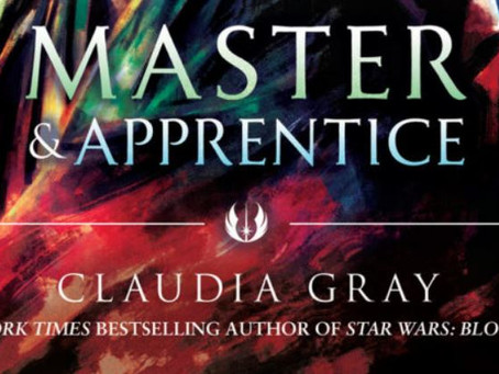 'Star Wars: Master & Apprentice' Cover Art