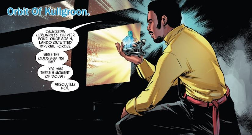 Picture from: Lando: Double or Nothing, Part II