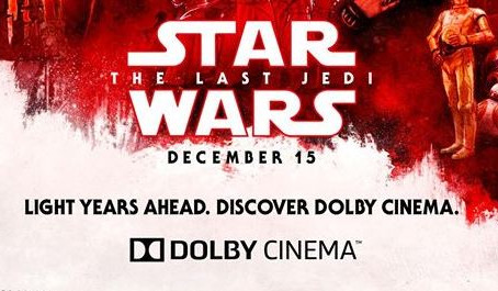 Exclusive Dolby Cinema 'The Last Jedi' Poster Revealed