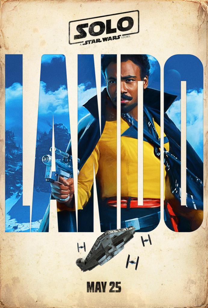 Childish Gambino as Lando Calrissian