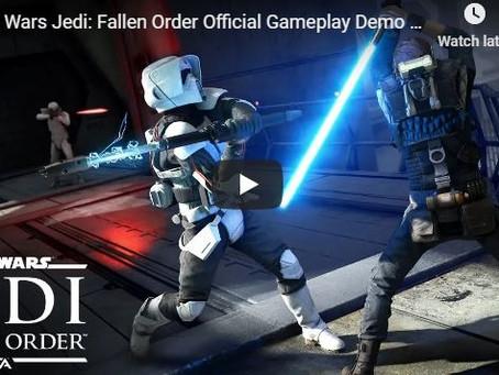 'Star Wars Jedi: Fallen Order' Gameplay Revealed