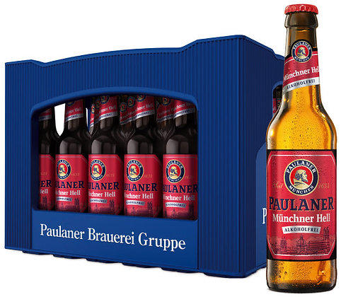 Paulaner Münchner-Hell Alk-Frei Glas 24x0,33L