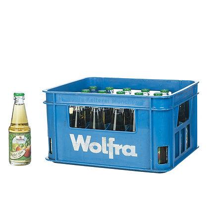 Wolfra Apfelsaft klar 30x0,20L