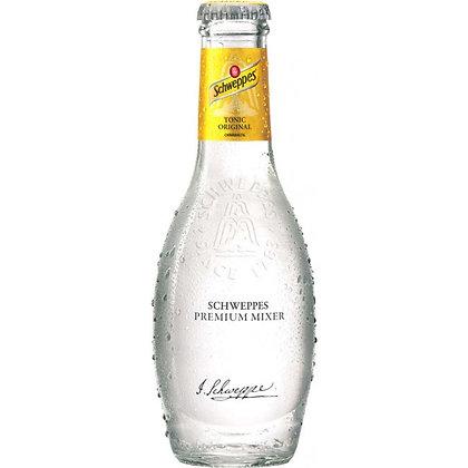 Schweppes Premium-Tonic-Original Glas 24x0,20L