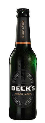 Becks Amber-Lager Glas 24x0,33L