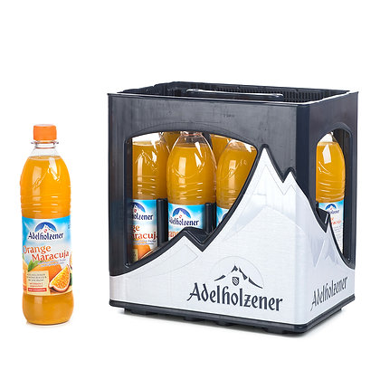 Adelholzener Orange Maracuja PET 08x0,75L