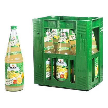 Wolfra Zitronensaft Glas 06x1,00L