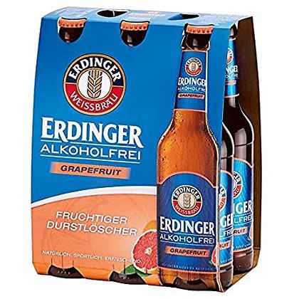 Erdinger Weissbier Alkoholfrei Grapefruit 6er 24x0,33L