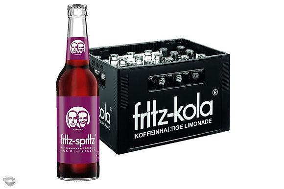 Fritz-Spiritz BIO-Traubensaftschorle Glas 24x0,33L