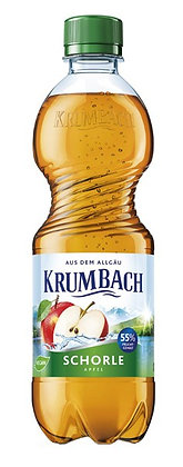 Krumbach Sanfte Schorle Apfel PET 20x0,50L