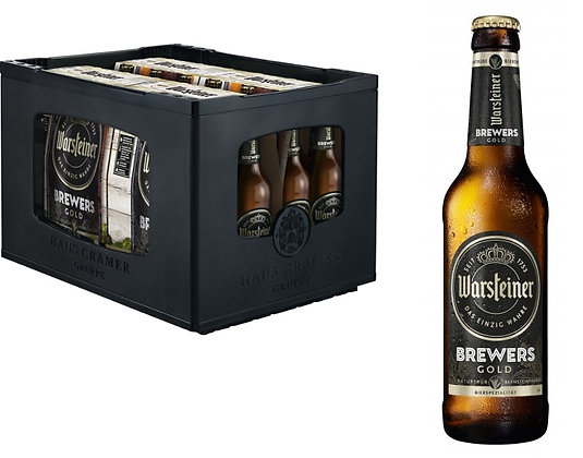 Warsteiner Brewers Gold 6-Pack 24x0,33L