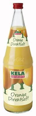KELA Direkt-Orangensaft 06x1,00L