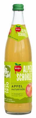Wolfra Alpenschorle Apfel Naturtrüb 20x0,33L