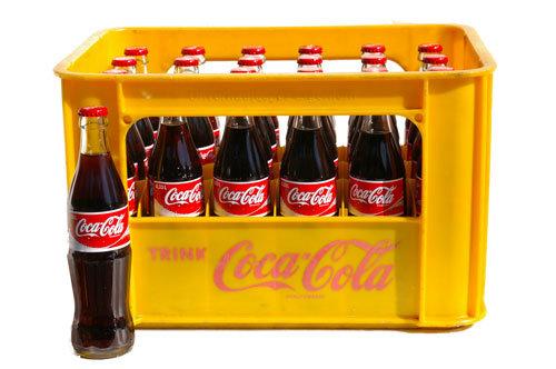 Coca-Cola Glas 20x0,33L