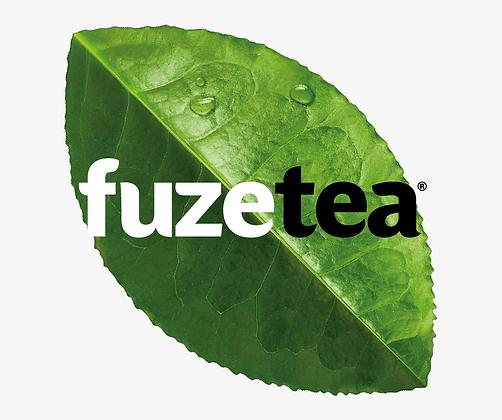 Fuze Tea Pfirsich Holunderblüte ohne Zucker 12x0,40L