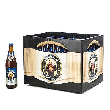 Franziskaner WB-Alk-Frei Glas 20x0,50L