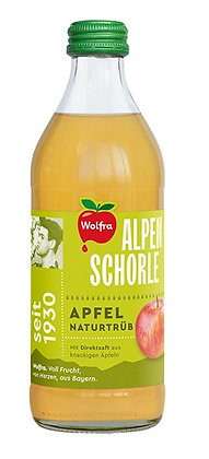 Wolfra Alpenschorle Apfel Naturtrüb 20x0,50L
