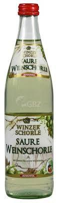 Augusta Winzer-Weinschorle Weiß sauer 10x0,50L