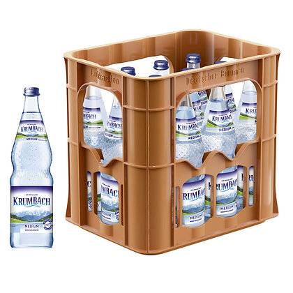 Krumbach Medium Glas 12x0,70L
