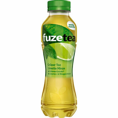 Fuze-Tea Grün-Tea-Limette-Minze PET 12x0,40L
