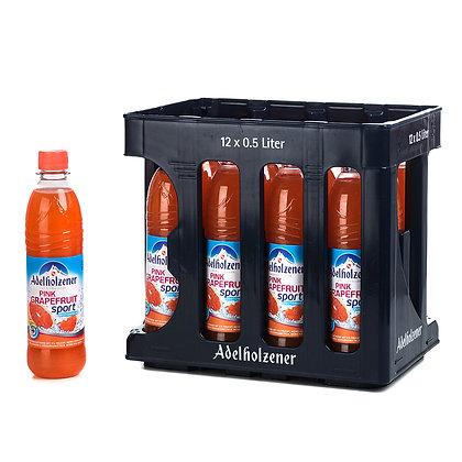 Adelholzener Orange-Pink-Grapefruit PET 12x0,50L