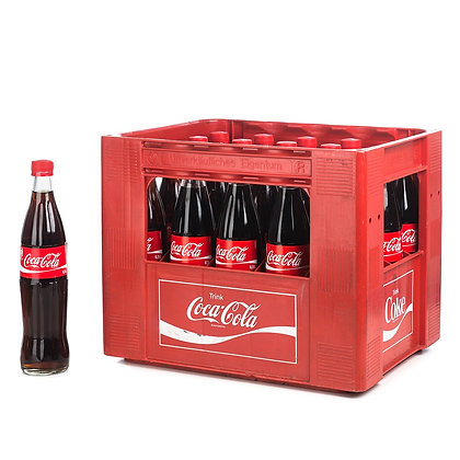 Coca-Cola Glas 20x0,50L