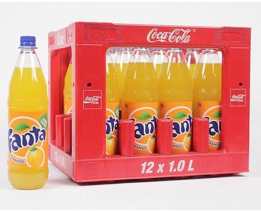 Fanta Orange PET 12x1,00L