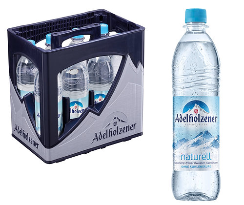 Adelholzener Naturell PET 08X0,75L