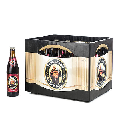 Franziskaner WB-Dunkel Glas 20x0,50L