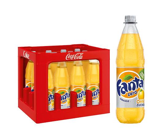 Fanta Orange Zero PET 12x1,00L