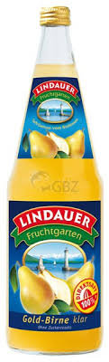 Lindauer Gold-Birnensaft klar 06x1,00L