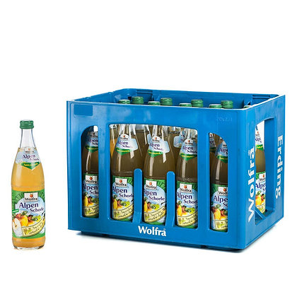 Wolfra Apfelsaft klar 20x0,50L